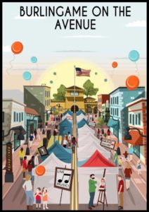 Burlingame on the Ave festival this August 17th - 18th